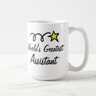 Der bestste Assistent der Welt - Kaffeetasse