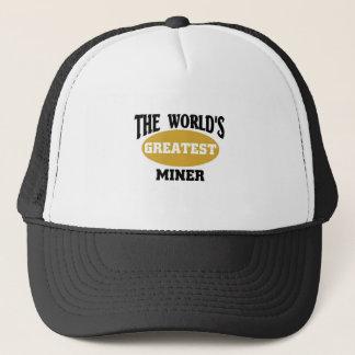 Der bestste Bergmann der Welt Truckerkappe