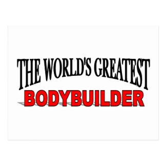 Der bestste Bodybuilder der Welt Postkarte