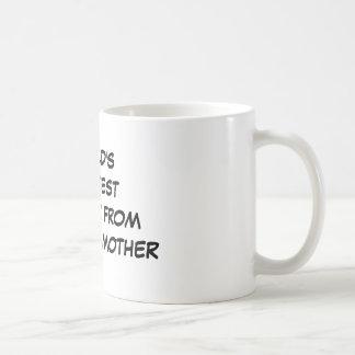 """""""Der bestste Bruder der Welt von einer anderen Mut Kaffeehaferl"""