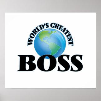 Der bestste Chef der Welt Plakat