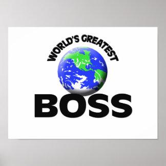 Der bestste Chef der Welt Plakate