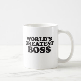 Der bestste Chef der Welt Tasse