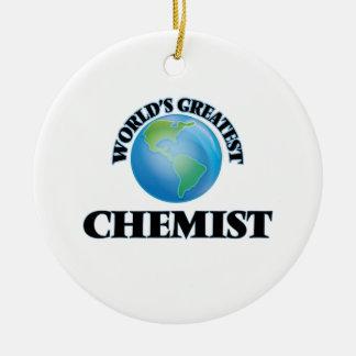 Der bestste Chemiker der Welt Ornamente