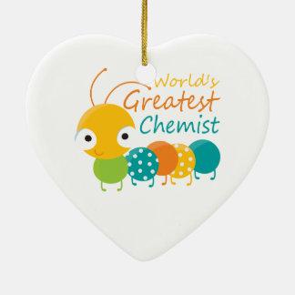 Der bestste Chemiker der Welt Weihnachtsbaum Ornament