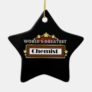Der bestste Chemiker der Welt Ornament
