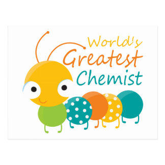 Der bestste Chemiker der Welt Postkarten