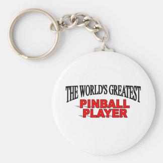 Der bestste der Flipperautomat-Spieler der Welt Schlüsselbänder