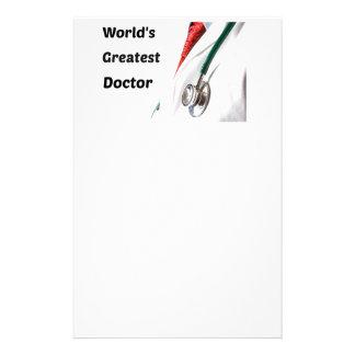 Der bestste Doktor Design der Welt Briefpapier