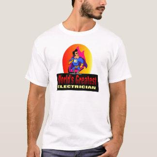 Der bestste Elektriker der Welt T-Shirt