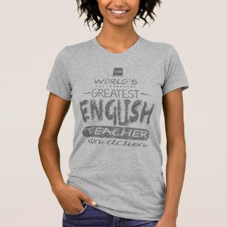 Der bestste englische Lehrer der Welt T-Shirt