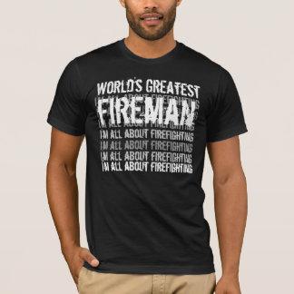 Der bestste Feuerwehrmann der Welt T-Shirt