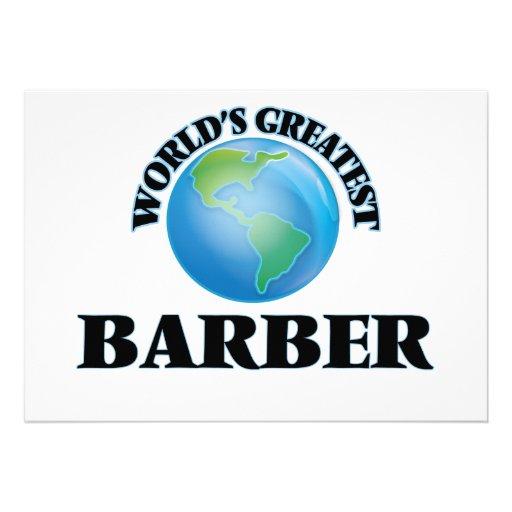 Der bestste Friseur der Welt Einladungen