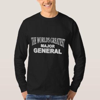 Der bestste Generalmajor der Welt T-shirt