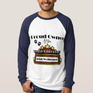 Der bestste irische Wolfhound der stolze T-Shirt