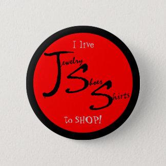 Der bestste Käufer der Welt Runder Button 5,7 Cm