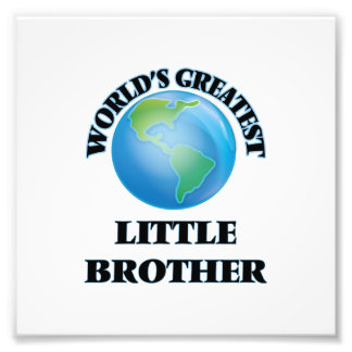 Der bestste kleine Bruder der Welt Fotografien
