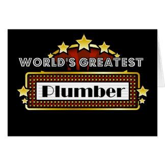 Der bestste Klempner der Welt Karte