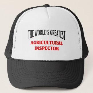 Der bestste landwirtschaftliche Inspektor der Welt Truckerkappe