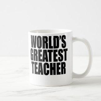 Der bestste Lehrer der Welt Kaffeetasse