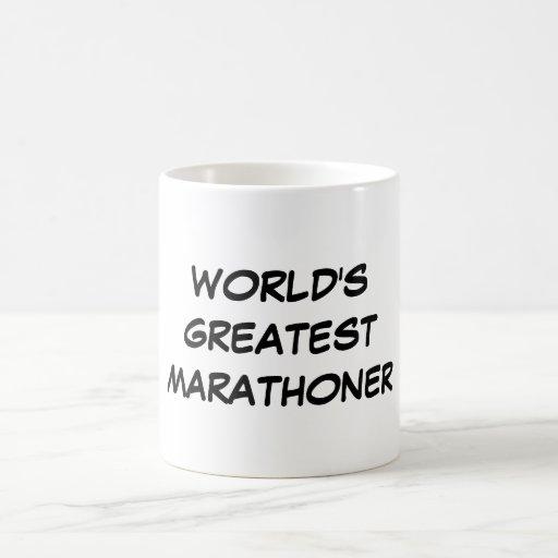 """Der bestste Marathoner-"""" Tasse """"der Welt"""