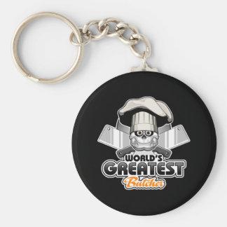Der bestste Metzger v2 der Welt Schlüsselanhänger