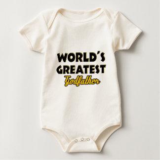 Der bestste Pate der Welt Baby Strampler