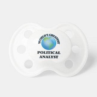 Der bestste politische Analytiker der Welt Schnuller