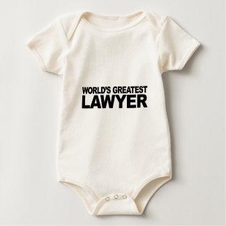 Der bestste Rechtsanwalt der Welt Baby Strampler