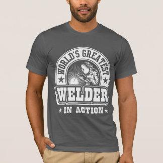 Der bestste Schweißer der Welt in der Aktion T-Shirt