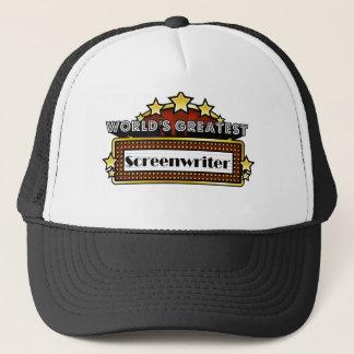 Der bestste Screenwriter der Welt Truckerkappe