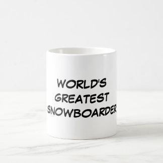 """Der bestste Snowboarder-"""" Tasse """"der Welt"""