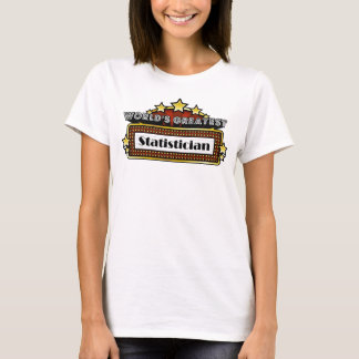 Der bestste Statistiker der Welt T-Shirt