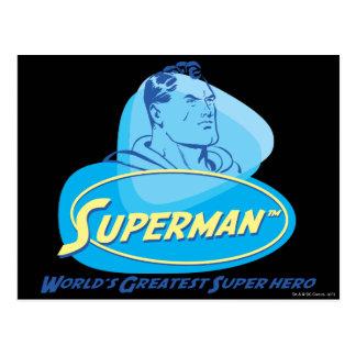 Der bestste Superheld der Welt Postkarte