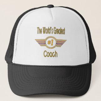 Der bestste Trainer der Welt Truckerkappe
