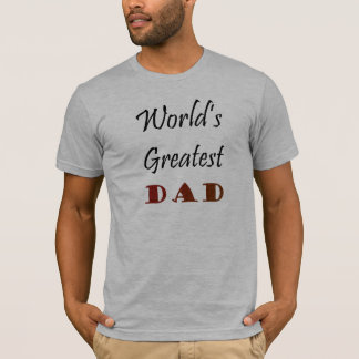 Der bestste Vati der Welt T-Shirt