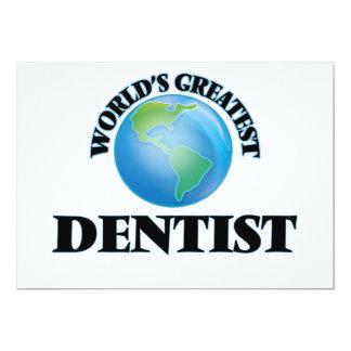 Der bestste Zahnarzt der Welt Einladungskarten