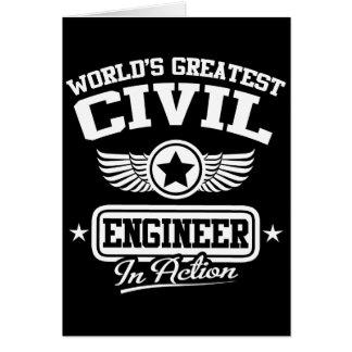 Der bestste zivile Ingenieur der Welt in der Karte