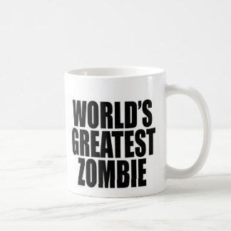Der bestste Zombie der Welt Kaffeetasse