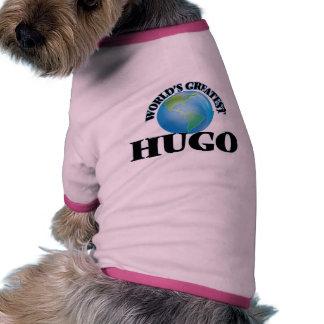 Der beststen Welt hören auch Haustier T-shirt