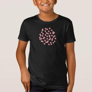 Der Bio T - Shirt der Kinder mit roten