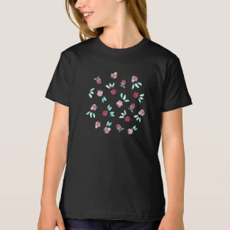 Der Bio T - Shirt der Klee-Blumen-Mädchen