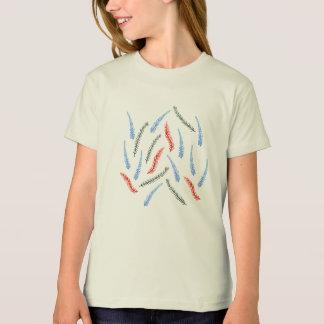 Der Bio T - Shirt der Niederlassungs-Mädchen