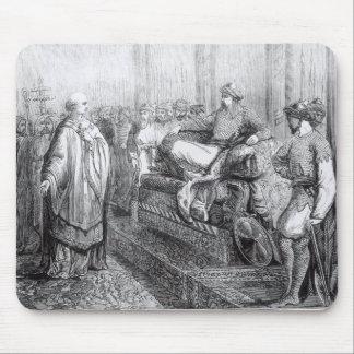 Der Bischof von Salisbury vor Saladin Mauspads