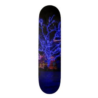 Der blaue Baum Bedrucktes Skateboard