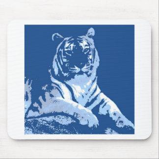 Der blaue Tiger Mousepad