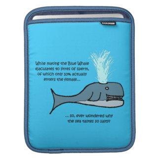 Der Blauwal… iPad Sleeve