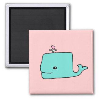 Der Blauwal Quadratischer Magnet