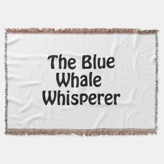der Blauwal Whisperer Decke