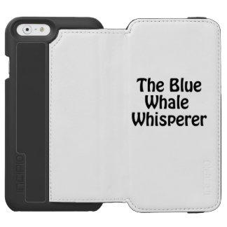 der Blauwal Whisperer Incipio Watson™ iPhone 6 Geldbörsen Hülle